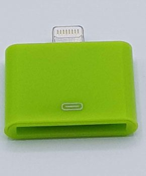 30 Pins naar 8 Pin Adapter - Voor Ipad / iPhone - Groen