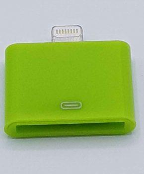 30 Pins naar 8 Pin Adapter - Voor Ipad / iPhone - Groen