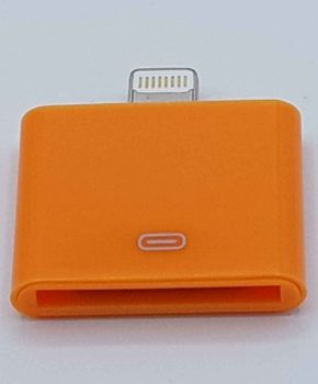 30 Pins Naar Lightning compatible (8 Pin) Kabel Adapter - Voor Ipad / iPhone - Oranje
