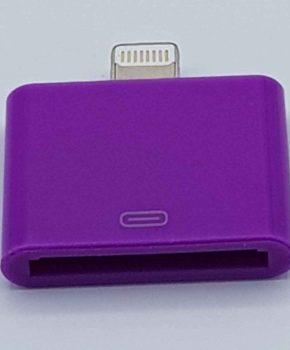30 Pins naar Lightning compatible (8 Pin) Kabel Adapter - Voor Ipad / iPhone - Paars