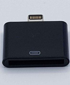 30 Pins Naar Lightning compatible (8 Pin) Kabel Adapter - Voor Ipad / iPhone - Zwart
