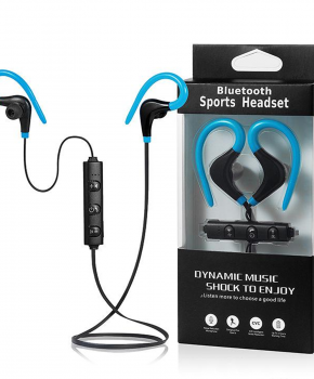 Sport Bluetooth In-Ear headset - blauw - true stereo