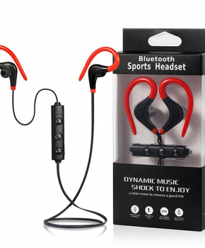 Sport Bluetooth In-Ear headset - rood - true stereo
