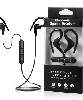 Sport Bluetooth In-Ear headset - Zwart - true stereo