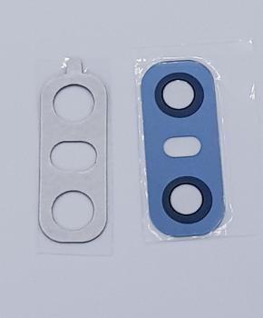 Achter camera Glas Lens geschikt voor de LG G6 - Blauw - inclusief tape
