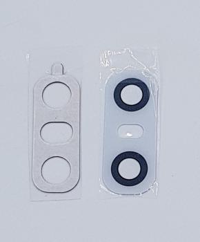 Achter camera Glas Lens voor de LG G6 - Zilver - inclusief tape