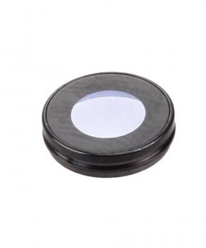 Iphone 7 achter camera lens glas met cover -zwart