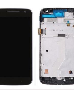 Motorola Moto G4 Play LCD + frame - (XT1602, XT1604) - Zwart