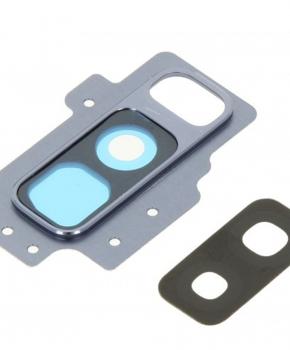 Voor Samsung Galaxy S9 Plus Camera glas Lens met Cover - Blauw