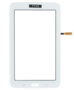 Touchscreen geschikt voor de Samsung Galaxy Tab 3 Lite SM-T113 - Wit