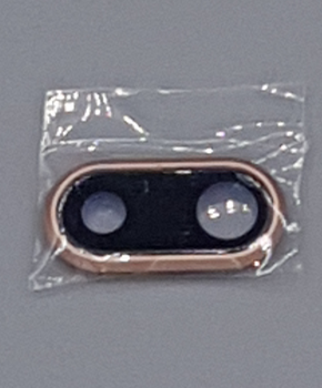 Back camera lens cover voor de iPhone 8 Plus - Goud