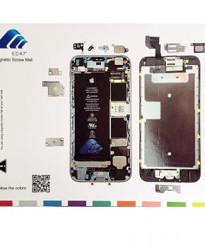 """Magnetische schroeven mat - voor iPhone 6S 4.7"""""""