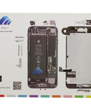 Magnetische schroeven mat - voor iPhone 7