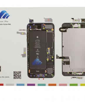 Magnetische schroeven mat - voor iPhone 7 PLUS