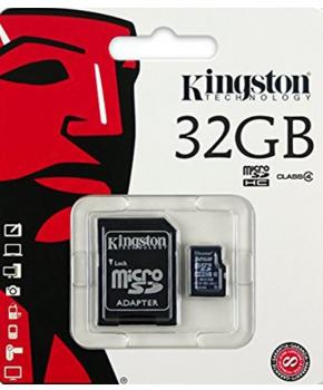 Micro SD - 32 GB - Class 10 -  Kingston
