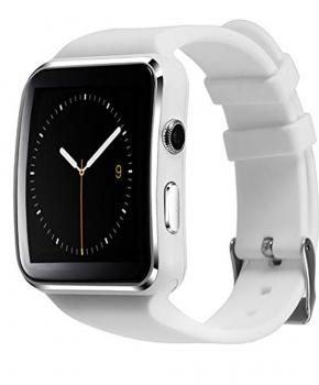 Smartwatch - Sporthorloge - X6 - Wit -  voor android en IOS