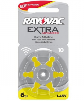Rayovac Extra Advanced H10 - 6-pack