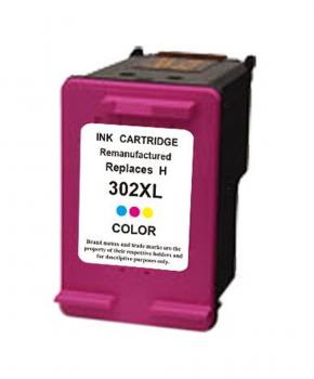 SecondLife - HP 302 XL Color