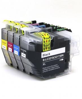 SecondLife - Multipack Brother LC 3219 XL BK, C, M en Y