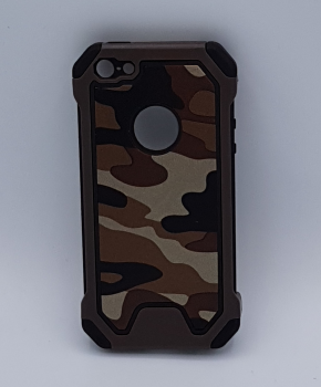 iPhone 5, 5s, SE - hoes, cover - TPU - Camouflage