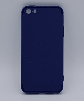 iPhone 5, 5s, SE hoesje  - effen blauw