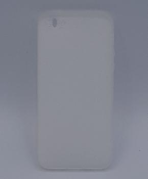iPhone 5, 5s, SE hoesje  - effen wit