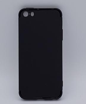 iPhone 5, 5s, SE hoesje - effen zwart