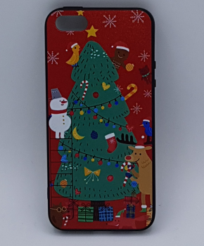 iPhone 7 hoesje - kerst - kerstboom tafereel