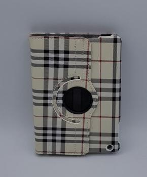 Voor iPad mini 4 case / hoes  - Geruit  - geel