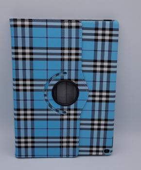 Voor iPad Pro 10.5 inch case / hoes  - Geruit - blauw
