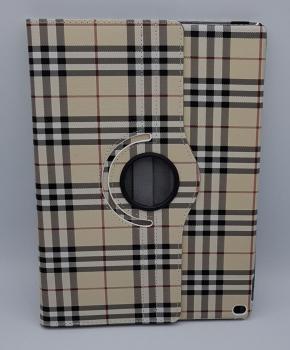 Voor iPad Pro 10.5 inch case / hoes  - Geruit - geel
