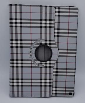 Voor iPad Pro 10.5 inch case / hoes  - Geruit - grijs