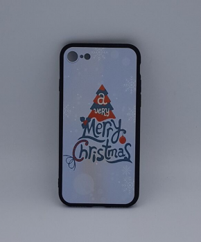 iPhone 6 Plus hoesje  - kerst - a very Merry Christmas - wit