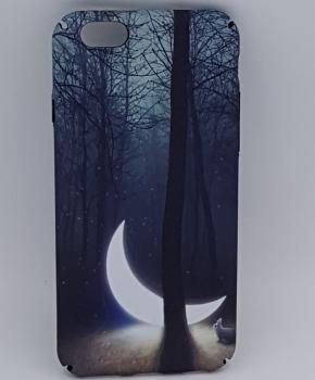 iPhone 6/ 6S hoesje - sunken moon in the forest