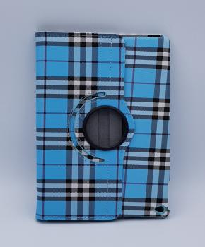 Voor Ipad Air 2 case / hoes - Geruit - blauw
