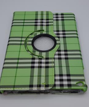 Voor Ipad Air 2 case / hoes  - Geruit - groen