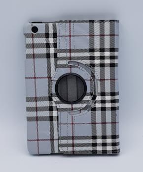 Voor iPad mini 1/2/3 case / hoes  - Geruit - grijs