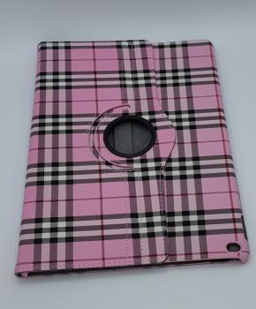 Voor iPad Pro 10.5 inch case / hoes  - Geruit-  roze