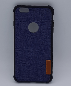 Voor IPhone 6 Plus hoesje - jeans style