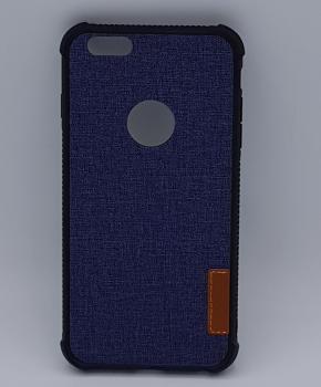 Voor IPhone 6 Plus hoesje - jeans style