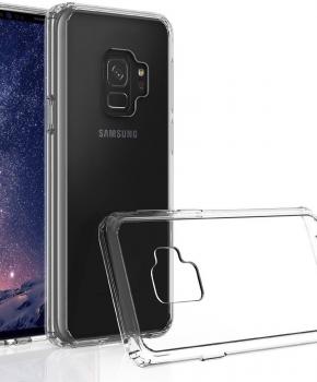 Voor Samsung S9  - transparant Hoesje