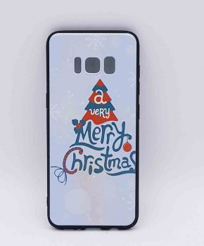 Voor Samsung Galaxy S8  - kerst hoesje - a very Merry Christmas