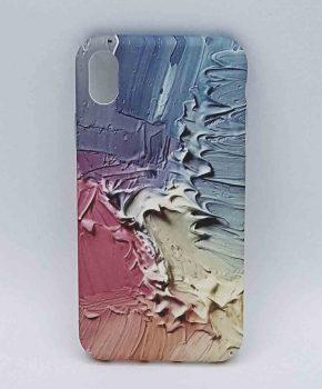 iPhone XR - hoesje - 3d verf spetters