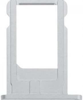 iPhone 6s / 6S Plus Simkaart houder - zilver - originele kwaliteit