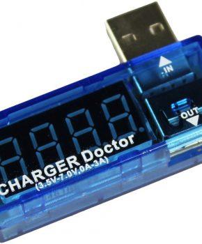 USB Charger Doctor - telefoon - multimeter oplader detector stroom-en voltmeter