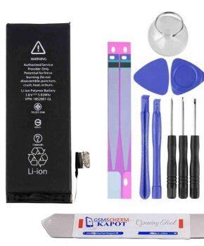 Voor iPhone 5S batterij reparatie kit + USB Charger Doctor voltmeter