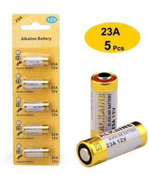 23A 12V Alkaline Batterij (5-Pack)