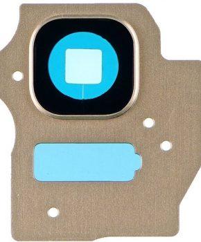 Camera Lens Cover - Goud -  inclusief lens voor de Samsung Galaxy S8 + (Plus)