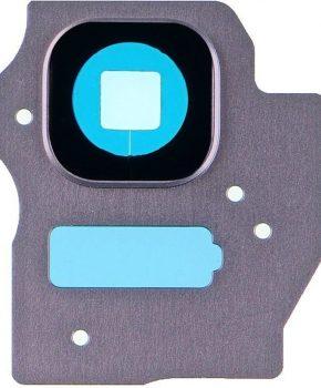 Camera Lens Cover - Orchid Gray -  inclusief lens voor de Samsung Galaxy S8 + (Plus)