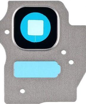 Camera Lens Cover - Artic Silver -  inclusief lens voor de Samsung Galaxy S8 + (Plus)